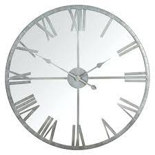 fullsize of beauteous large grey wall clock larger easy to read numerals wall clock large grey