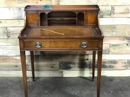 vintage genuine mahogany leather