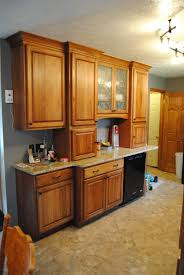 Superb Lowes Denver Hickory Kitchen Cabinets Noticeable Fieldstone Cabinets With  Tremont Door Style In Hickory Finished In