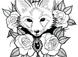 Free Animal Coloring Pages Kids Running Downcom