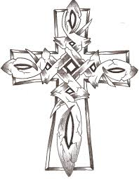Cross Coloring Pages Celtic Stone Cross