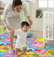 Buy China 3c Certification Letter Infant Baby Crawling Mat Measuring