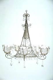 unusual rustic outdoor chandelier a2489360