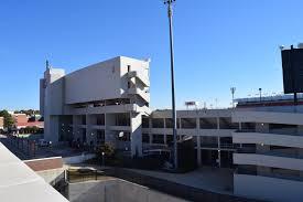 File Vaught Hemingway Stadium From Parking Garage Jpg