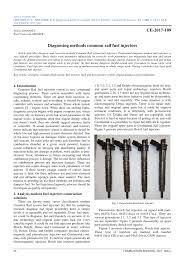 Pdf Diagnosing Methods Common Rail Fuel Injectors