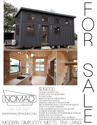 Small Picture The Black Pearl by Nomad Tiny Homes TINY HOUSE TOWN