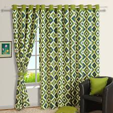 Geometric Pattern Curtains Inspiration Buy Geometric Patterns Printed Cotton Curtains Online For Living