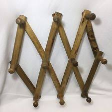 Coat Peg Rack Wooden Peg Rack eBay 83