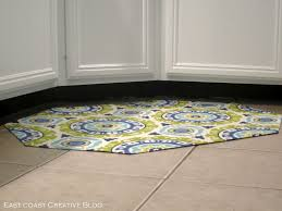 Rubber Floor Mats For Kitchen Diy Fabric Floor Cloth Floor Mat East Coast Creative Blog