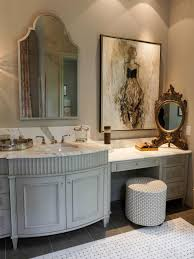 awesome country bathroom vanities decor with white cabinet and beige wall decor