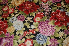 T326 Asian Japan Oriental Metallic Floral Quilt Fabric Cotton Fabric &  Adamdwight.com