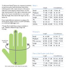 Bionic Golf Glove Sizing Grips4less