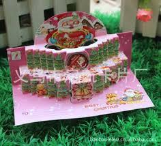Buy DIY Stereoscopic Threedimensional Christmas Cardschristmas Christmas Ornaments Wholesale