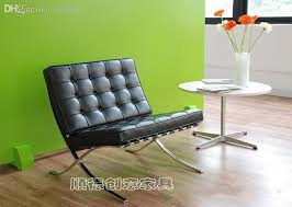 whole barcelona chair barcelona chair leather sofa chair ikea single european creative designer chair outdoor lounges heavy duty folding chairs from