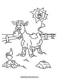 Onderwerp Boerderij Dieren Dieren Gratis Kleurplaten Downloaden En