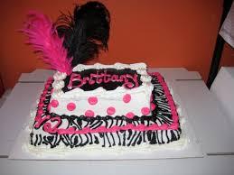 zebra birthday cake for teen girls. Fine Teen Walmart Birthday Cakes Girls With Zebra Cake For Teen T