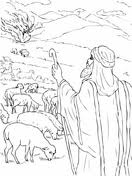 Small Picture The Burning Bush coloring page Free Printable Coloring Pages