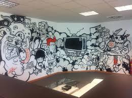 office graffiti wall. credit ny graffiti artists for hire office wall i