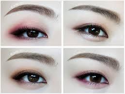 korean makeup eye shadow más