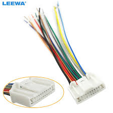 online buy wholesale nissan radio wiring harness from china nissan Wiring Harness Adapter For Car Stereo That Keep Factory Wires car stereo cd player wiring harness adapter plug for nissan subaru infiniti oem