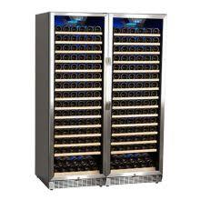 large wine refrigerator. Delighful Large 47 Inch Wide 332 Bottle BuiltIn Wine Cooler And Large Refrigerator A
