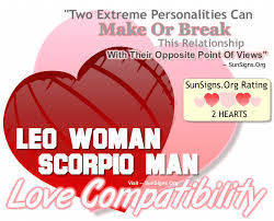 Leo And Scorpio Compatibility Chart Leo Woman Compatibility With Men From Other Zodiac Signs