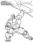 Hulk Kleurplaten Gratis Printbare Kleurplaten