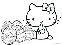 Coloring Pages Printables Hello Kitty Cat Coloring Pages Online