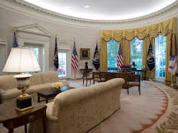white house oval office. Brilliant White The Newly Renovated Oval Office Of The White House In Washington Tuesday  Aug 22 2017Carolyn KasterAP For