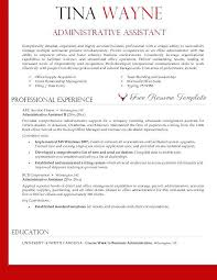 Executive Resume Formats Unique Admin Executive Resume Format Vp Resume Samples Administrative