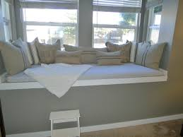 ... Fascinating Ideas For Home Interior Space Design Using Window Seats  With Storage : Killer Picture Of ...
