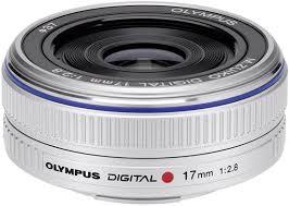 <b>Объектив Olympus</b> M.<b>Zuiko Digital 17mm</b> 1:2:8 / EW-M1728 ...