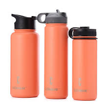 lc outdoor 18oz 22oz 32oz vacuum flask double wall stainless steel insulated water bottle