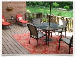 image of classic outdoor rugs for patios