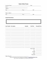 Free Printable Order Form Simple Business Order Form Simple Resume Examples For Jobs