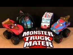 Power Punch Monster Truck Rasta Mater Cars Toon - YouTube