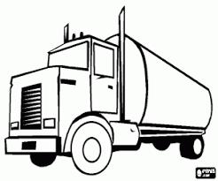 Kleurplaten Vrachtwagen Kleurplaat 2