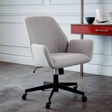 west elm office chair. Aluna Upholstered Office Chair - Antique Bronze West Elm