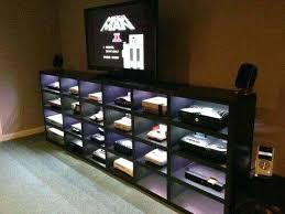 Video game room furniture Backyard For Johns Future Man Cave All Those Systems We Have Video Game Room Furniture Uk Empleosena Decoration For Johns Future Man Cave All Those Systems We Have