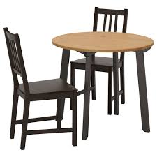 ikea stefan gamlared table and 2 chairs