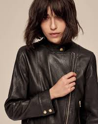icon leather biker jacket women s jackets and coats me em