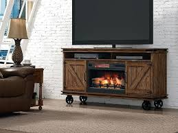 electric fireplace tv stand white in infrared electric firebox with log set ii042fgl real flame fresno