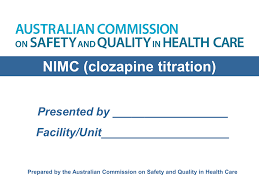 Clozapine Dosage And Titration Chart Clozapine Titration Powerpoint Presentation