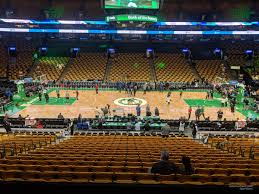 boston celtics seat view for td garden section 111