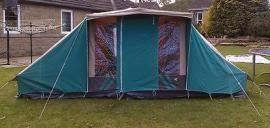 Relum Canvas Frame Tent 4 Person