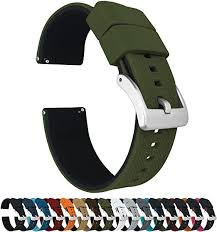 Barton Elite <b>Silicone Watch Bands</b> - Quick Release - Choose Color ...