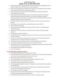 quality assurance analyst job resume Resume Sample For Quality Control  Inspector Teacher Resume Sample Our Collection