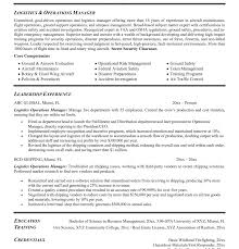 Supply Chain Resume Resume Logistics Manager India Supply Chain Pdf Objective Examples 73