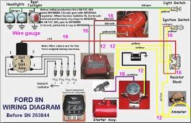 wiring diagram for 8n ford