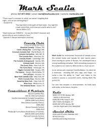 Breakupus Wonderful Resume Mark Scalia With Glamorous Resume With